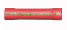 RED BUTT SPLICE CONNECTOR ( Conductor size 0.25mm2 - 1.5mm2)